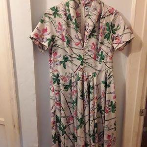 Hell Bunny Vixen floral dress
